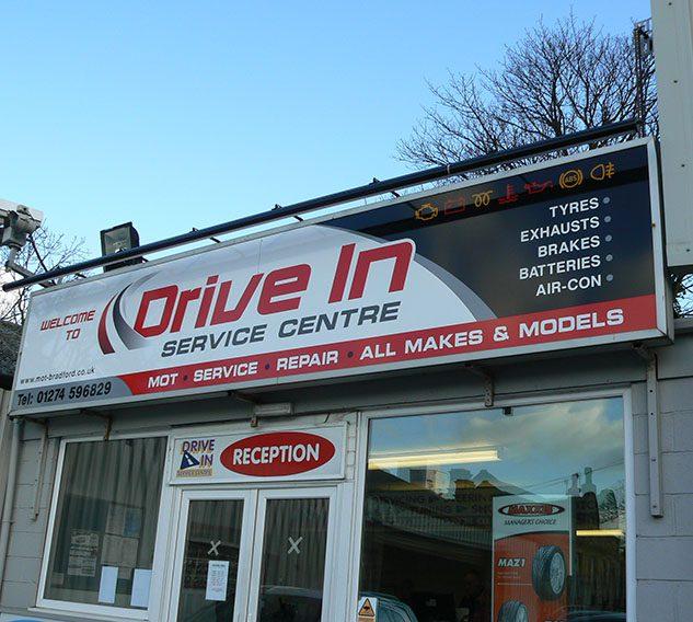 Drive In Service Centre, Shipley