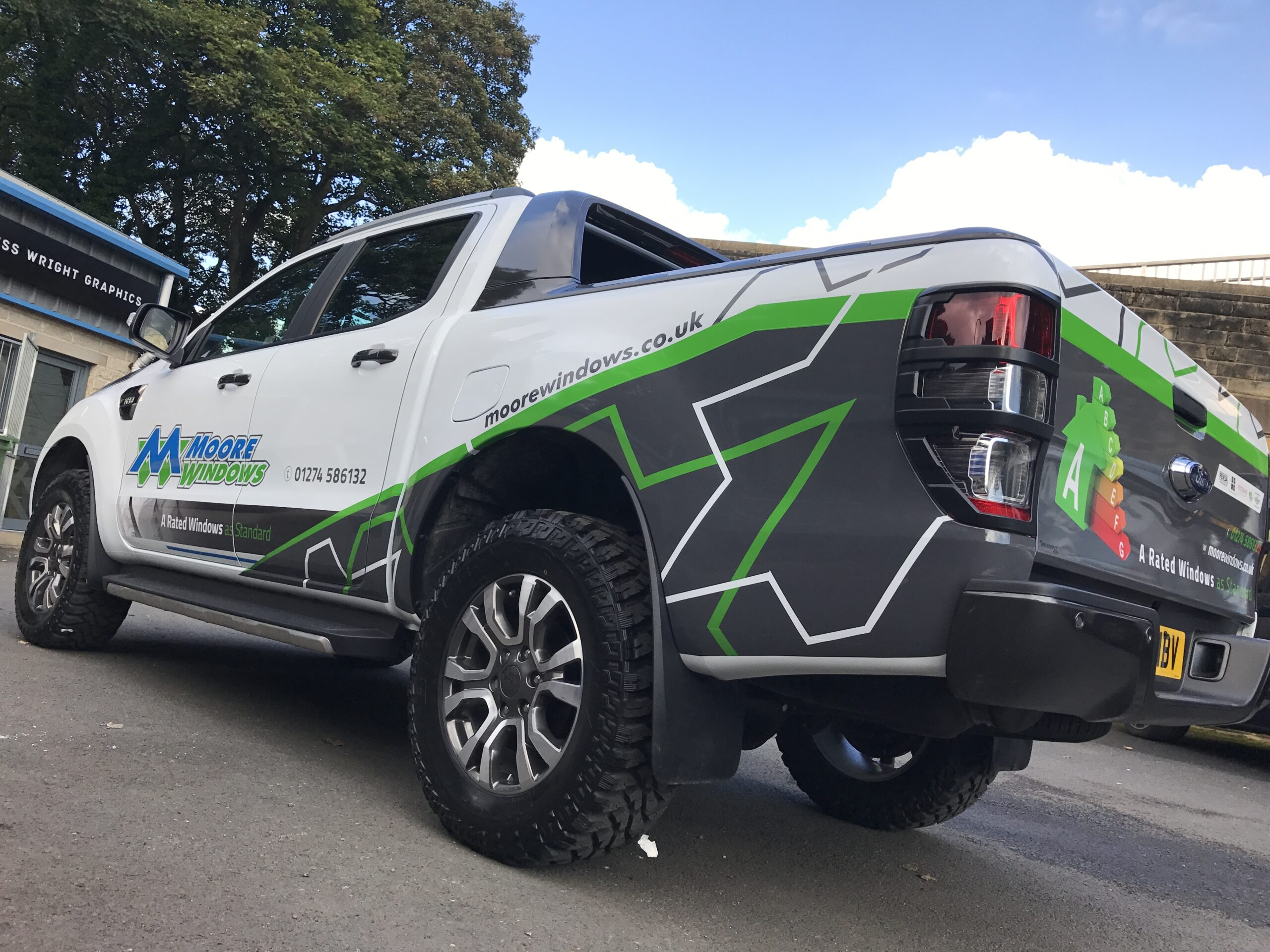 0db55df620 Moore windows ford ranger 2 truck graphics leeds bradford yorkshire ...